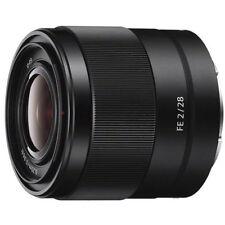 Sony Fe 28mm f/2 Lens Sel28F20
