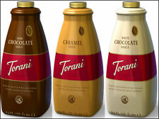Torani 64 oz. Puremade Dessert Flavoring Sauce (Choose from 5 Flavors)