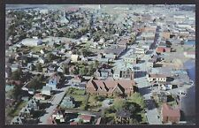 Circa 1960 Postcard Aerial View of NORTH SYDNEY, Nova Scotia, Canada