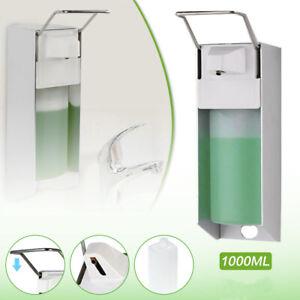1000ml Desinfektionsmittelspender SeifenspenderEdelstahl Wandmontage Eurospender