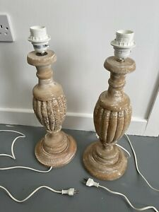 Vintage French 2 Lamps