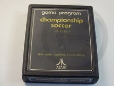 !!! ATARI 2600 SPIEL Championship Soccer, gebraucht aber GUT !!!