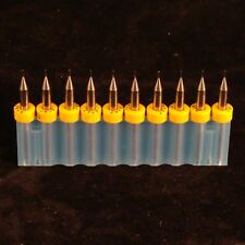 10 Pack .020 Inlay Cutters .020 End Mill 2 flute inlays 10 Cutters 000718