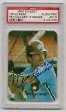 1986 Rob Broder #38 Mike Schmidt signed autographed HOF PSA DNA #31371339