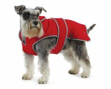 Ancol Muddy Paws Stormguard & Fleece Lining Coat Hunde-Mantel  Red S