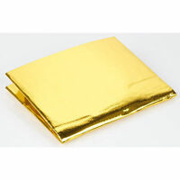 39'' x 47'' Self Adhesive Reflective Gold High Temperature Heat Shield Wrap Tape