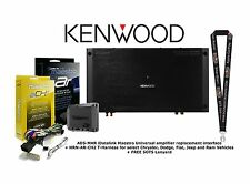 Kenwood XR600-6DSP OEM Integration Amplifier with T Harness Chrysler Jeep Fiat