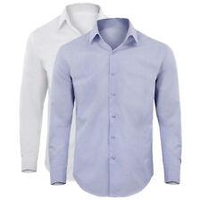 Camicia Manica Lunga Uomo Cotone Spigato Slim Comfort GIROGAMA 2405IT