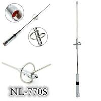 NL-770S 150W Car Radio Mobile//Station Antenna SL16/UHF-J/M Dual Band UHF/VHF