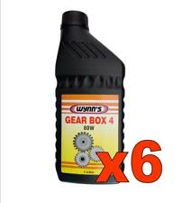 N. 6 WYNN'S GEAR BOX 4 80W litri 1  Olio per cambi manuali e differenziali GL4