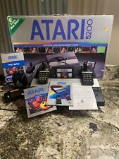 Vintage Atari 5200 Video Gme Console 4 Port w/orig contollers, power& switch box