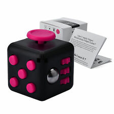 Fidget Cube Anxiety Stress Relief Focus Gift Toy Adults Kids Attention Therapy
