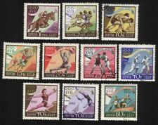 Olympic Games (Rome 1960): Wrestling, Fencing, Steeplechase, Etc. Cplt Set of 10