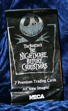 Nightmare Before Christmas Trading Cards~New/Unopened~Neca*J ack*Sally*Oogie