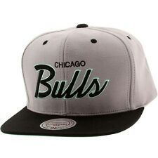 $30 Mitchell And Ness Chicago Bulls Lady Liberty Snapback Cap gray black teal