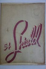 Chicago High School Yearbook 1954 Luther South  Chicago