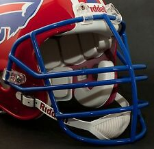 Schutt Super Pro NJOP Football Helmet Facemask / Faceguard (SAN FRAN RED)