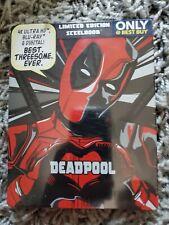 NEW OOP Deadpool 2-Year Anniversary 4K Blu-Ray Best Buy Steelbook NEW
