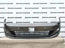 VW Golf MK7 2012-2016 frontal parachoques en gris Genuino [V288]