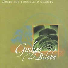 Ginkgo Biloba Music for Focus and Clarity (CD) Harmonix Relaxation Co.