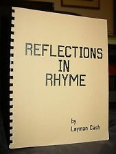 Reflections In Rhyme, Poems By Layman Cash Greensboro NC, Blue Ridge Mountains