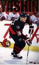 Vtg Alexei Yashin Ottawa Senators 23x35 Poster New in Plastic 90s NHL Hockey