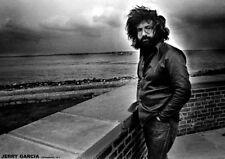 Jerry Garcia Grateful Dead Copenhagen 1971 b/w POSTER