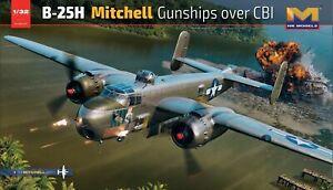 HK Models 1/32 B-25H Mitchell Gunships over CBI 01E037