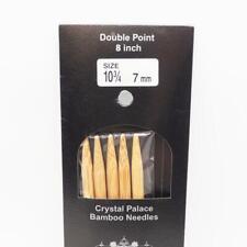 Crystal Palace Bambú Doble Punto Agujas para Tejer 20.3cm Talla Eeuu 10-3/4 7mm