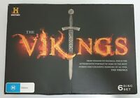 History Channel: The Vikings 6x Disc Box Set on DVD PAL Region 4 Fast Shipping
