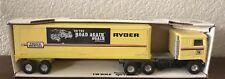 Rare Vintage Ertl Kenworth Ryder Rental Semi Cab &Trailer Steel 1:48 New In Box