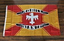 New Mobile Infantry Banner Flag Starship Troopers & Federation 3x5 Sci Fi Movie