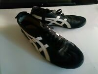 Vintage Asics Onitsuka Tiger black leather shoes hl202 us 11 EU 45