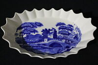 "Copeland Spode Blue Tower Old Mark 11"" Discounted Jubilee Dish Rare, Mint"