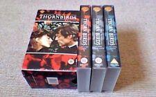 THE THORN BIRDS 3-TAPE VHS VIDEO BOX SET 1997 Richard Chamberlain Rachel Ward