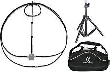 10-80 meter magnet alpha antennenschleifen mit duffle, tripod, 6:1 reduktion drive