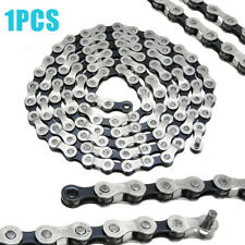Silver Bicycle Chain 18 21 24 Speed Super Light for MTB Road Bike Bicycle 116L