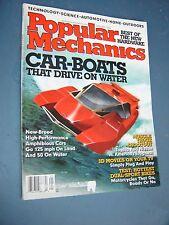 Popular Mechanics Magazine - January 2004 - Car-Boats Driving on Water 3d movies