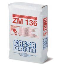 ZM 136 INTONACO FASSA 25 KG - Intonaco e lisciatura base gesso per interni