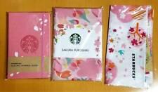 Starbucks Japan SAKURA FUROSHIKI 2018 wrapping cloth&Journal Book&cloth set F/S