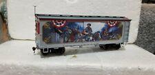 Bradford Exchange Hawthorne Village Civil War HO General Jeb Stuart Box Car RARE