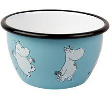 Moomin Moomintroll Enamel Bowl 0.6 L Muurla