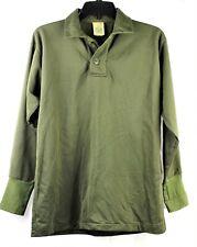 New listing Us Army Vietnam Era Sleeping Shirt Men Size Small Og-106 Triacetate Tricot Knit