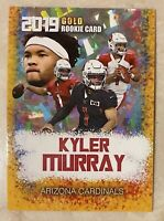 2019 Kyler Murray Gold Rookie Gems Rookie Card Arizona Cardinals Mint Condition