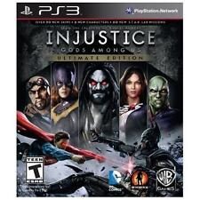 Injustice: Gods Among Us -- Ultimate Edition (PlayStation 3, 2013)-PS3 Complete