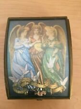Vintage Via Vermont Hark the Herald Angels Sing Music Trinket Jewelry Box