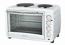 Igenix IG7145 45 Litre Electric Mini Oven with Double Hotplates-White