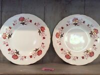 """Royal Crown Derby Bali Dinner Plate 10.5"""" 2 Available"""