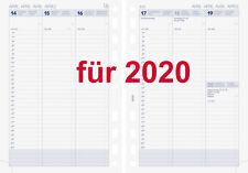 Brunnen Business Kalendarium 2020 1Wo=2Seit A5 Einlage Kalender Timer 10-79100