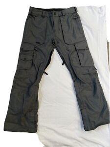 volcom  Men's snowboard pants medium / Pre-owned Dark Grey